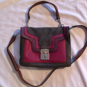 Colorblock Melie Bianco Crossbody bag